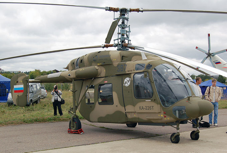 The contract for supplying light helicopters is estimated to be worth $480 million. Rosoboronexport intended to take part in the tender with its Ka-226T. Source: wikipedia