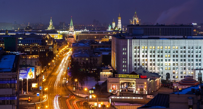 Moscow is being constructed and expanded, and it is getting more beautiful. Source: Igor Stepanov