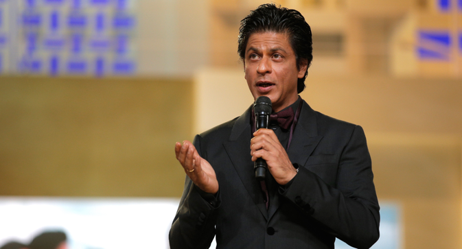 Shah Rukh Khan will be the host of the film awards. Source: AP