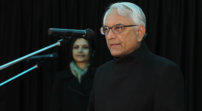 Former Ambassador of India to Russia P.S. Raghavan. Source: Embassy of India in Moscow