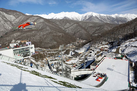 It's taken 90 years since men's ski jumping made its Olympic debut. Source: DPA / Vostock Photo