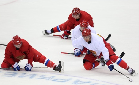 To win gold, it would seem that Russia needs to rely on teamwork, as well as the individual skills of players like Ovechkin, Datsyuk, Malkin, Semin, Kovalchuk, and Radulov. Source: Itar-Tass