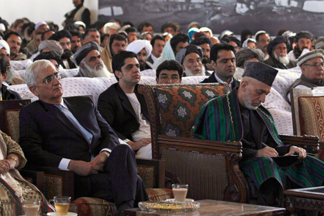 India has maintained close ties with the Karzai regime. Source: Reuters