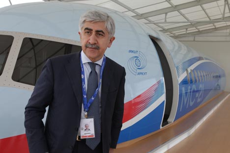 Mikhail Pogosyan, president of the United Aircraft Corporation. Source: ITAR-TASS