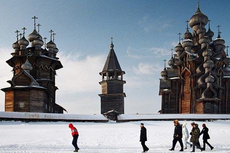 he Kizhi Pogost became one of the top attractions of northwest Russia / Igor Georiyevsky, strana.ru
