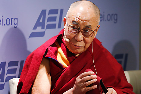 The Dalai Lama's meetings with US officials annoy China. Source: AP
