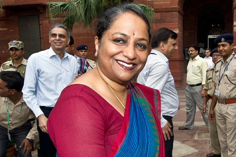 Foreign Secretary Sujatha Singh. Source: AFP