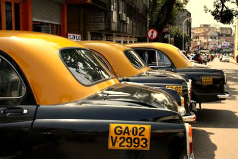 The taxi lobby in Goa is up in arms against tour operators.