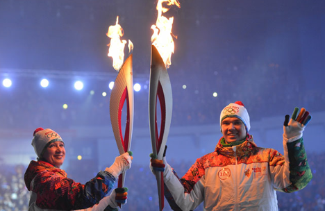Sochi Winter Olympics are beginning on February 7. Source: RIA Novosti