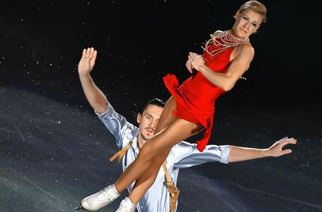 Tatyana Volosozhar and Maxim Trankov. Source: RIA Novosti