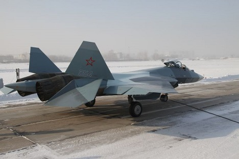 The initial version of the FGFA being created jointly by India and Russia will be ready for flight testing in 2014. Source: Sukhoi