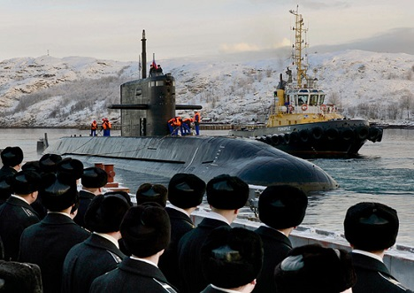 The project 1650 Amur-class submarine is an export model of the fourth-generation project 677 diesel-electric submarines, such as Sankt Peterburg (photo). Source: mil.ru