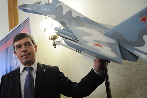 Rosoboronexport head Anatoly Isaykin: The Afghan military needs our helicopters like air. Source: ITAR-TASS