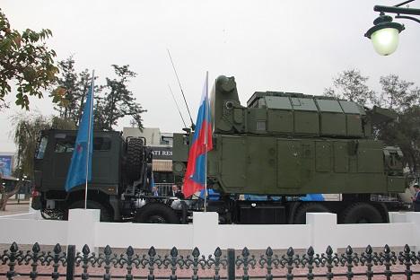 Tor-M2KM anti-missile system. Source: Alexander Nevara