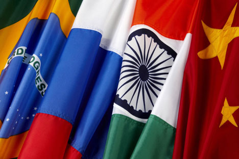 The BRICS countries are recognised as the future growth engines of the world economy. Source: PhotoXpress