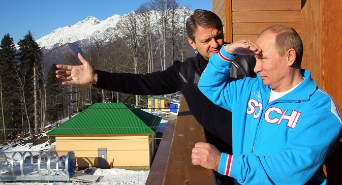 President Vladimir Putin has given personal guarantees that members of the LGBT community who come to Sochi will not be persecuted. Source: Reuters