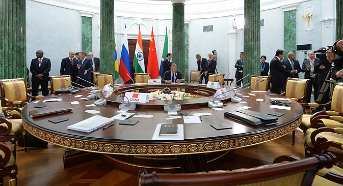 Russia throws caution in the wind when it comes to the BRICS bank. Source: Getty Images/Fotobank