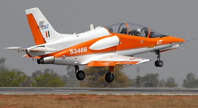 The first two prototypes of HAL's HJT-36 Sitara flew in March 2003 and March 2004. Source: Sergey Krivchikov / wikipedia