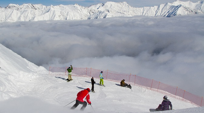 The Sochi mountains are an ideal place for winter sports. Source: Geo Photo