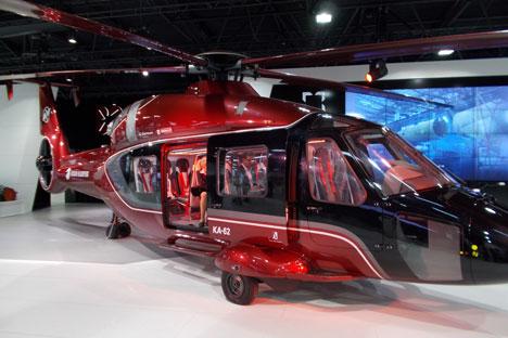 Ka-62 helicopter. Source: Boris Egorov