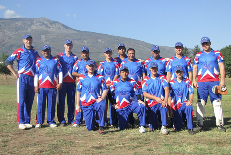 The team comprises of eight Russians, with the remaining players being of Indian origin. Source: 2012 Cricket Russia