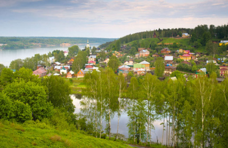 Plyos is one of the oldest towns in Russia. Source: strana.ru