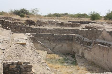 Indus Valley ruins in Kutch, India. Source: Ajay Kamalakaran