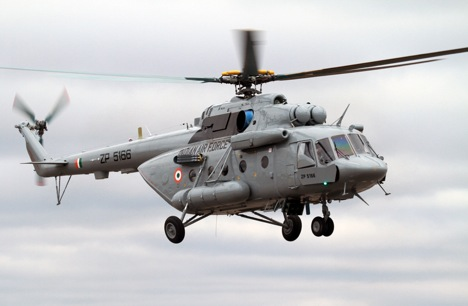 The Mi-17V-5 helicopters supplied to India belong to the Mi-8/17 family. Source: Press Photo