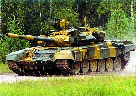 Indian t-90s are planned to be equipped with Russian Mango shells. Source: mil.ru