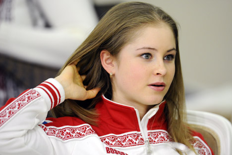 "Yulia Lipnitskaya: ""You just have to be well-prepared and do your job"". Source: Itar-Tass"