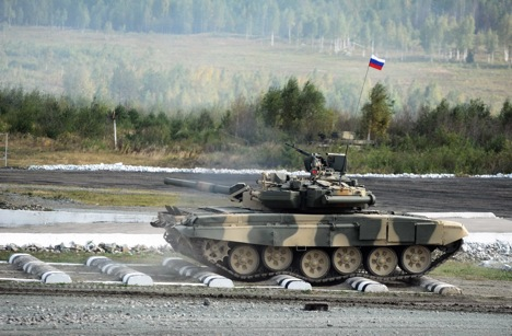 The T-90 main battle tank is a further development of the T-72. Source: Photoshot / Vostock-photo