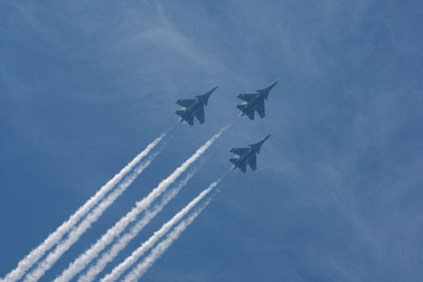 The Su-30MKI is the key element in India's strike force. Source: AP