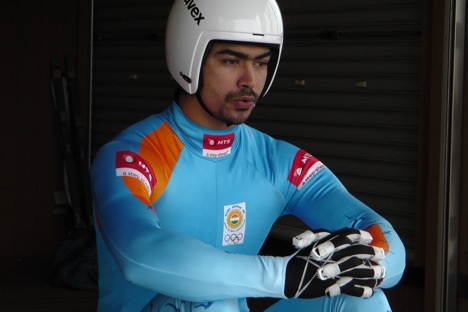 "Shiva Keshavan: ""We had some results in the Asian level that made us feel good and we have the potential now to do something at the world level"". Source: Alessandro Belli"