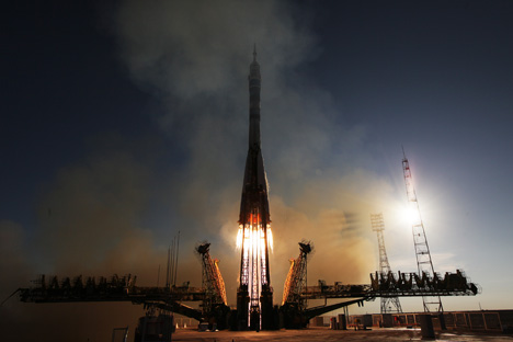The Baikonur Cosmodrome is a leading symbol of the space age. Source: RIA Novosti
