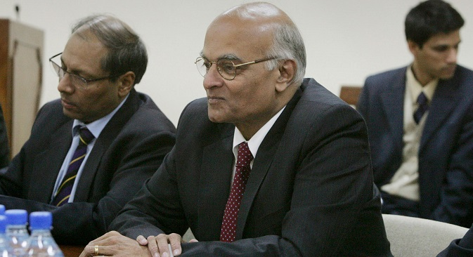 Indian National Security Adviser Shivshankar Menon. Source: AP