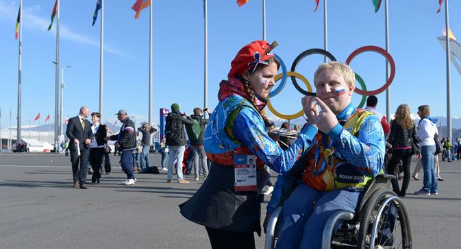 """The claims is most likely to be ready by today late afternoon, and we shall file it,"" says RPC head Vladimir Lukin. Photo: Sochi's Paralympic Village. Source: RIA Novosti"