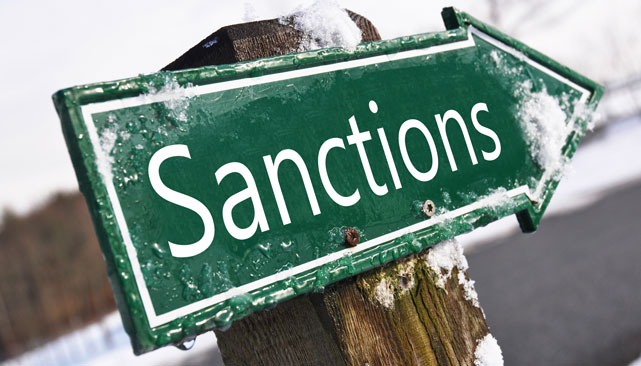 Sanctions will hurt all sides but the Russian threshold for hardship is a lot higher than the West's. Source: shutterstock/legion media