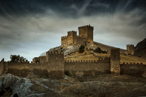 The Genoese Medieval fortress in Sudak. Source: Dmitry Mordvintsev / Getty Images