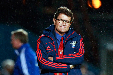 Capello: Brazil 2014 will help us gain experience of the real thing ahead of the following World Cup in Russia. Source: Reuters