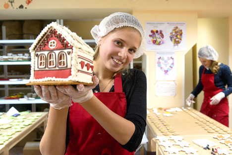 "Russia's ""spice cake capital"" is the city of Tula. Source: RIA Novosti"