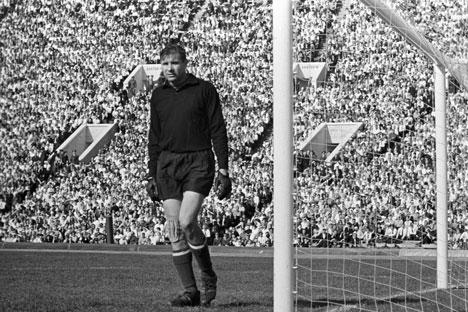 A legend of Moscow Dynamo soccer club. Source: RIA Novosti