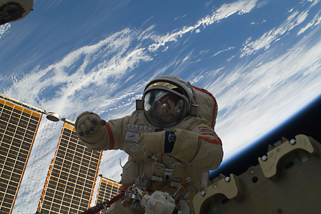 NASA says it will continue to work with Roscosmos to maintain a safe and stable operation of the ISS. Source: Nasa.gov