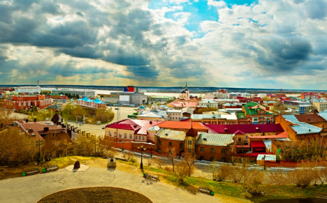 The city of Tomsk in central Russia is a striking combination of the old and new. Source: Lori / Legion Media