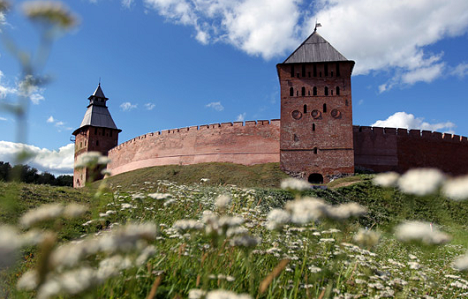 Walls of the Kremlin haven't changed since the day of its foundation and have stood here for centuries. Source: Konstantin Chalabov / RIA Novosti