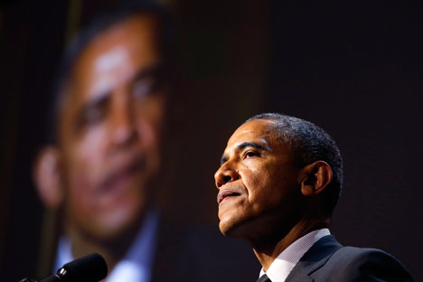 U.S. firms respond to White House call to withdraw from leading business event. Source: Reuters