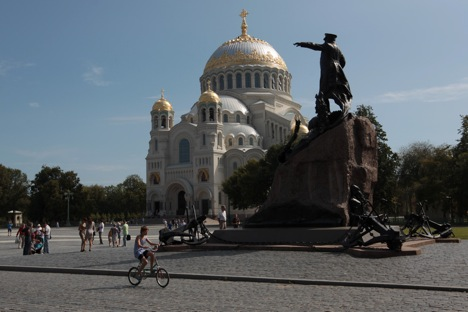 The Naval Cathedral of St. Nicholas. Source: Igor Russak / RIA Novosti
