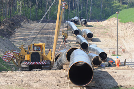The construction of TAPI pipeline is planned to complete in 2018. Source: DPA / Vostok-Photo