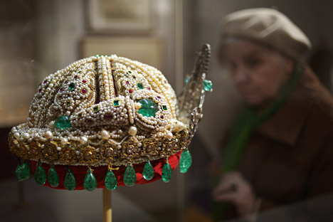 'India: Jewels that conquered the world' exhibition has aroused a great interest. Source: Grigory Sisoyev / RIA Novosti