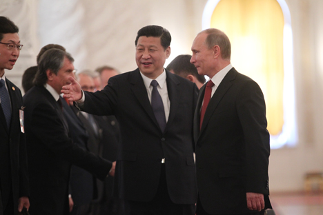 Russia needs to work with new Asian partners for sure, but it needs to complement rather than replace the established relationships among those already active in and committed to Russia. Source: Reuters
