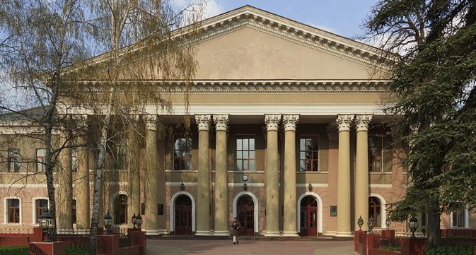 The building of the Crimea State Medical University in Simferopol. Source: A. Savin / wikipedia.org
